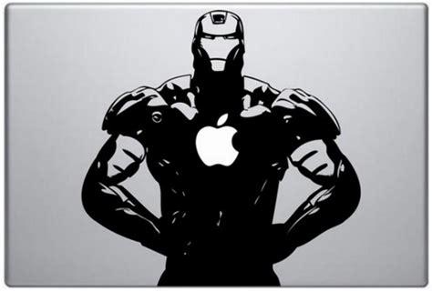 Macbook Aufkleber Ironman by Iron Fighter Macbook Aufkleber Electru De