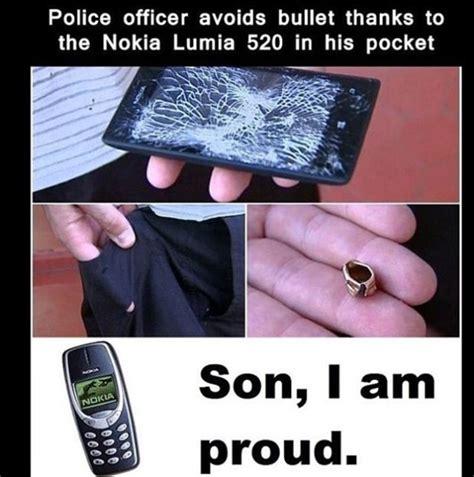 Nokia Phone Meme - bulletproof nokia lumia 520 sparks meme rush ubergizmo
