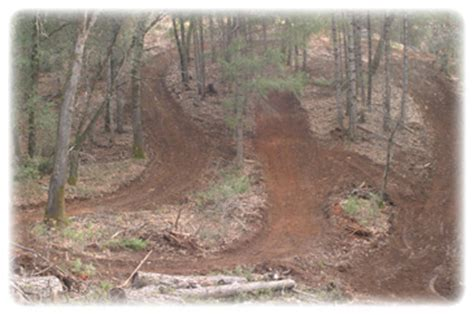 motocross track design and construction contractor excavator