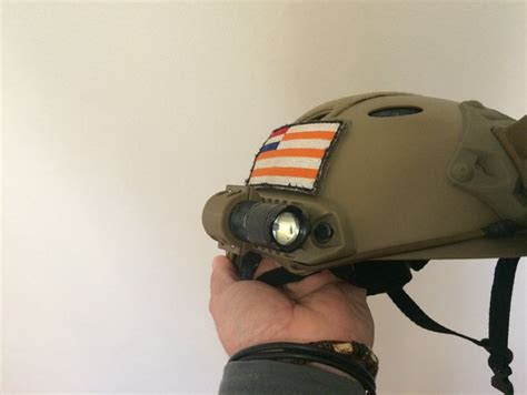 best helmet mounted light ops core helmet tactical light mount by keiserza thingiverse