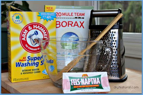 Homegrown And Handmade - laundry detergent the best recipe