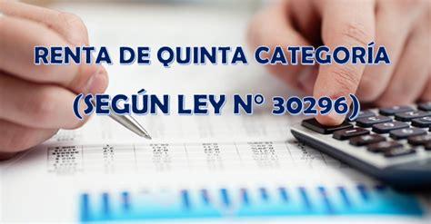 ley de renta quinta categoria 2016 tablas para c 225 lculo de renta de quinta categor 237 a seg 250 n