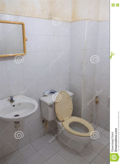 dirty bathroom dream old white dirty toilet stock photo image 71595589