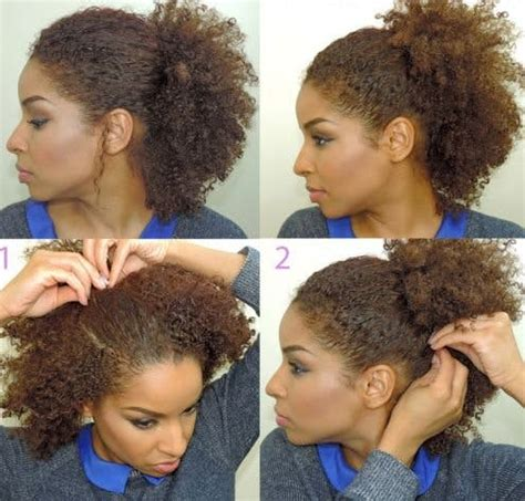 neck length natural hairstyles 30 quick and easy hair tutorials for every hair length