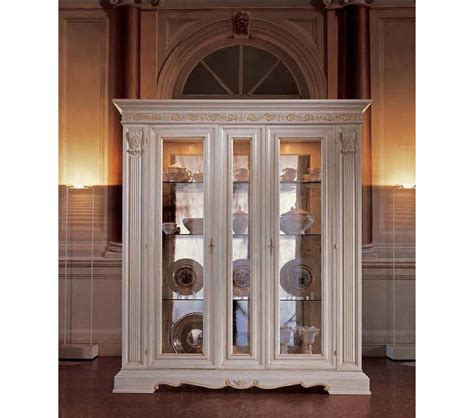 dining room display cabinets white dreamfurniture san marco white dining display cabinet