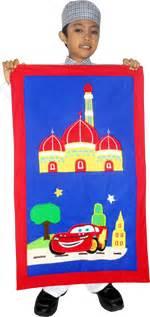 Tas Ransel Cars Bordir L 35cm produsen mukena anak sajadah anak sarung anak