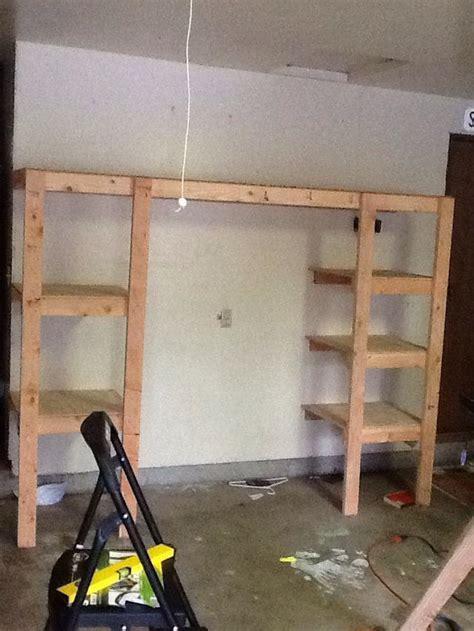 Quarter Garage Storage Cost How To Build Custom Garage Shelving Snapguide