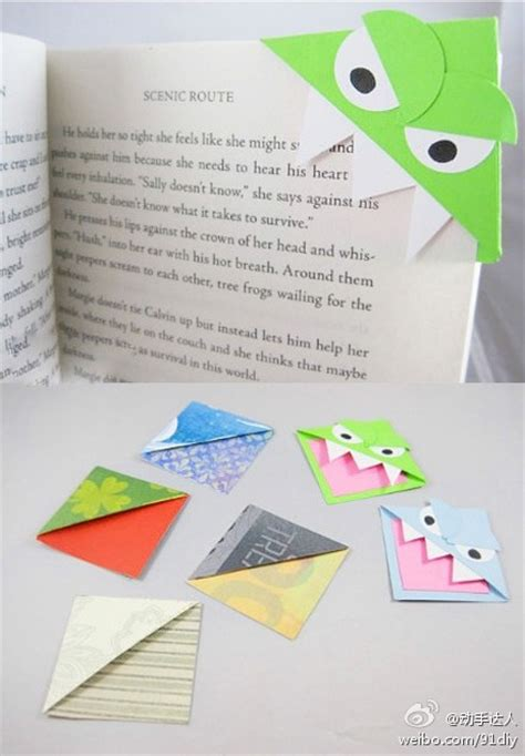 Origami Bookmark - ctbaker in the acres 14 lovely days day 2
