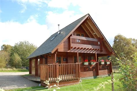 Large Log Cabins Scotland by Big Sky Lodges Near Inverness Scotland