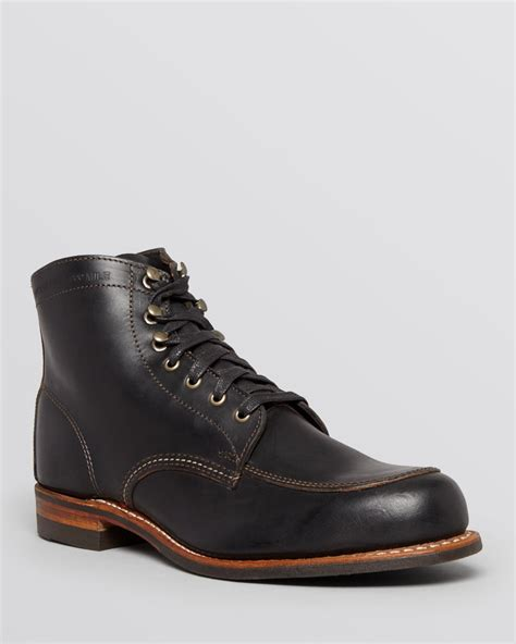 boot shoes for wolverine courtland boots in black for lyst