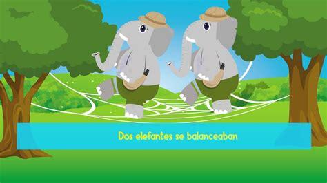 libro un elefante se balanceaba un elefante se balanceaba youtube