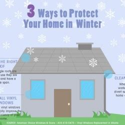3 ways to protect your home in winter visual ly