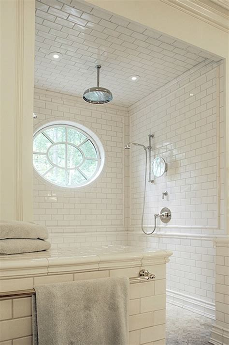 subway tile in bathroom ideas subway tile shower transitional bathroom litchfield
