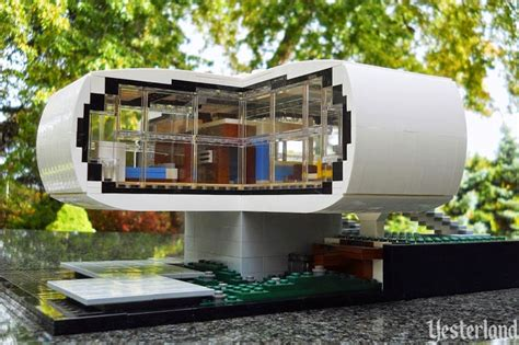 houses in the future yesterland lego house of the future