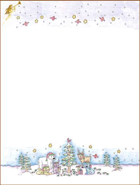 christmas stationery downloads 76 free christmas stationery and letterheads