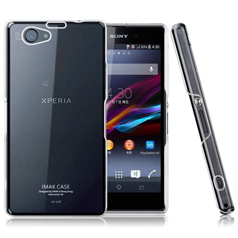 Imak Clear Sony Xperia Z Ultra imak 1 ultra thin for sony xperia z1 mini m51w transparent jakartanotebook