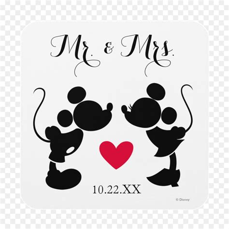Mickey Mouse Wedding Invitations