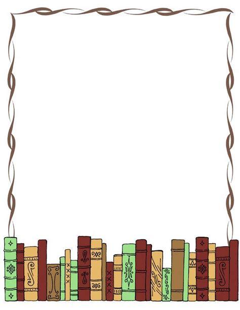 Borders Book Club by Book Border Clip Writingpaper Clip Misc Library