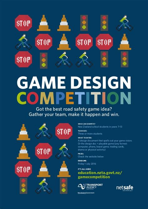 design a competition poster game design competition poster 2