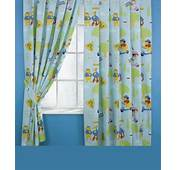 Curtain Designs And Styles For The Children's Bedroom