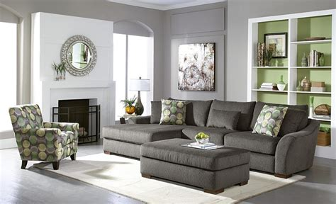 Gray Living Room Furniture | orleans gray living room sofa collection contemporary