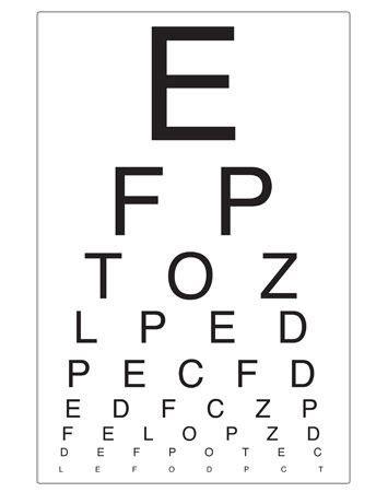 printable eye chart for preschoolers eye chart opticians role play free eyfs ks1