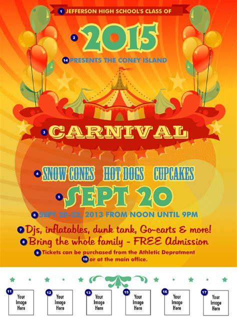 carnival logo flyer ticketprinting com