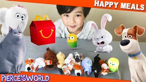 Mainan Macdonald Happy Meals mainan happy meal pets mainan toys