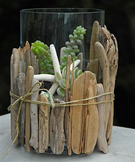 dekoration aus treibholz basteln mit treibholz diy deko mit erinnerungen an den