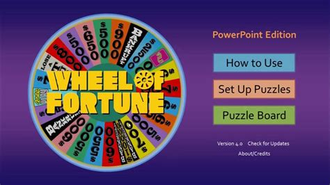 Wheel Of Fortune For Powerpoint Games By Tim Youtube Wheel Of Fortune Power Point