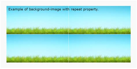 background repeat background image repeat css property formget