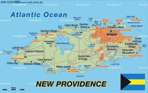 map of new providence map of new providence bahamas map in the atlas of the