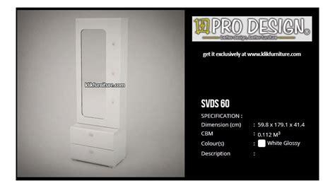 Meja Rias Pro Design harga meja rias minimalis svds 60 svan prodesign