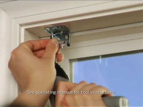 How To Put Blinds installing mini blinds dremel driver