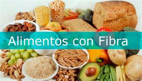 alimentos fibra soluble alimentos ricos en fibra alimentosricosen info