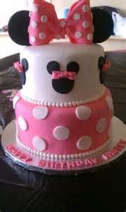 Handmade Birthday Cake - birthday cake ideas baby great minnie mouse
