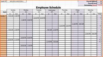 Employee Schedule Calendar Template by 8 Weekly Work Calendar Budget Template Letter