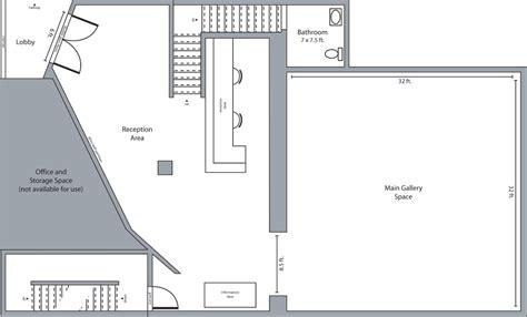 art gallery floor plan stunning duplex chelsea art gallery with outdoor terrace