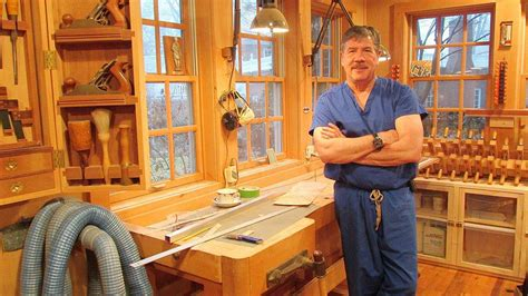 surgeon brings precision  woodworking hobby life