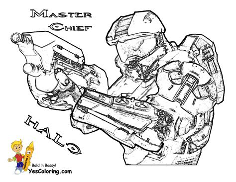 halo color heroic halo 4 coloring pages halo 4 free halo