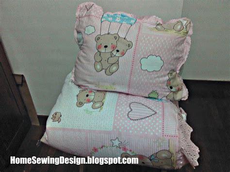 Stockholm 18 Sarung Quilt Kecil 2 Sarung Bantal Krem homesewingdesign quilt renda