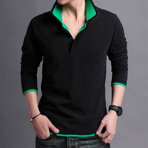 T Shirt Sleeve Oshkosh sell new s sleeve stand collar t shirts slim casual t shirt brand t shirts
