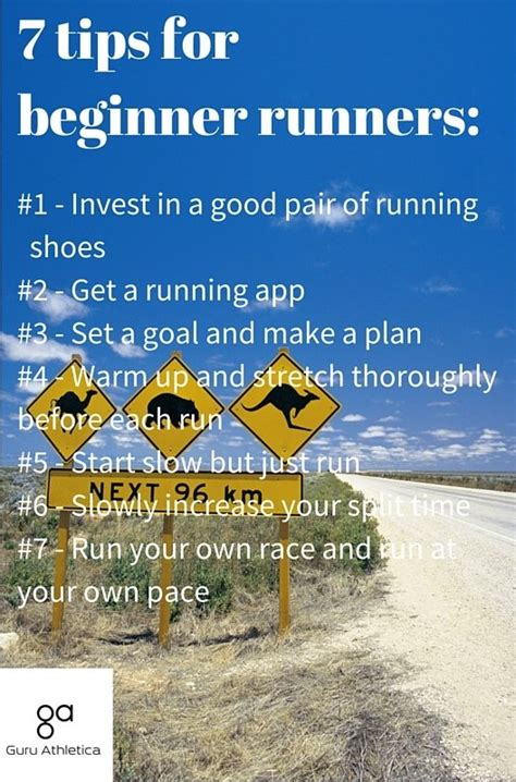 9 tips to run a learn how to run any distance 7 tips for a beginner run your race guru athletica