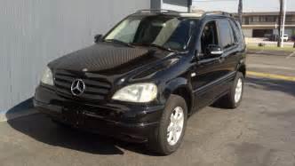 Mercedes Ml430 2000 Mercedes Ml430 Black T Tak Auto Service