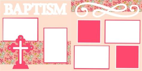 layout design for christening the gallery for gt pink baby background christening
