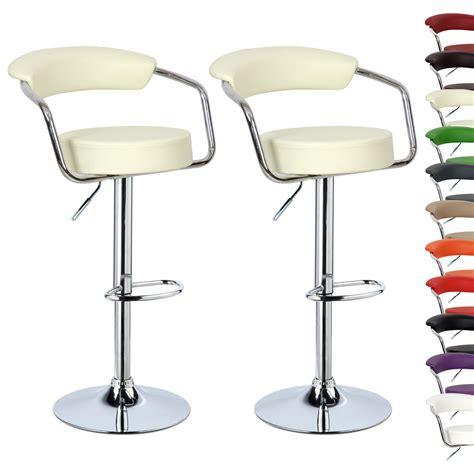 swivel breakfast bar stools 2 x bar stools kitchen breakfast swivel stool chair