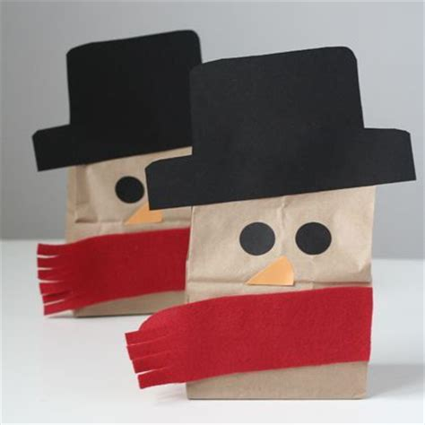 Paper Lunch Bag Crafts - 17 best images about paper bag crafts on