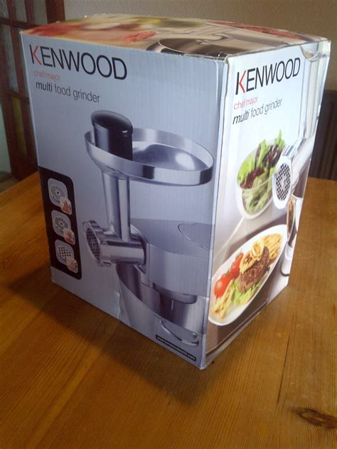 Multi Use Mincer my kenwood chef multi food grinder attachment aka mincer cooking with corinna