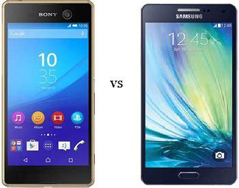 Harga Ic Samsung A8 perbandingan samsung galaxy a8 vs sony xperia m5 dual