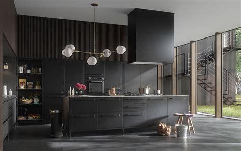 cocinas negras ideas   resultado espectacular cocinas  estilo